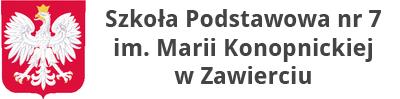Biuletyn Informacji Publicznej Szkoły Podstawowej nr 7 im. Marii Konopnickiej w Zawierciu
